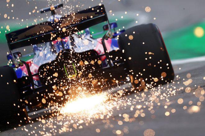 2019年F1第20戦ブラジルGP ダニール・クビアト(トロロッソ・ホンダ)