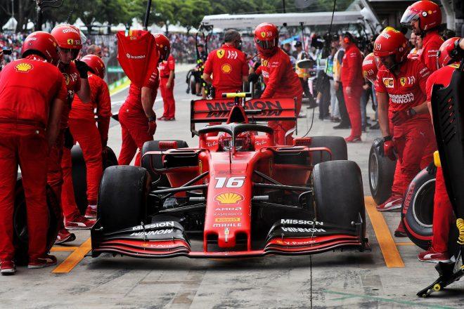 2019年F1第20戦ブラジルGP シャルル・ルクレール(フェラーリ)