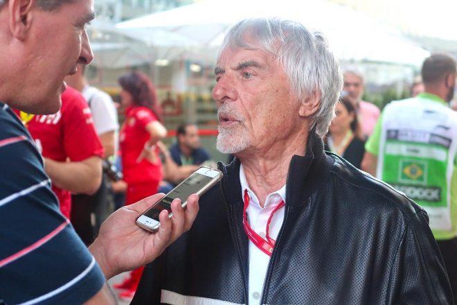 2019年F1第20戦ブラジルGP バーニー・エクレストン(元F1の最高権力者)