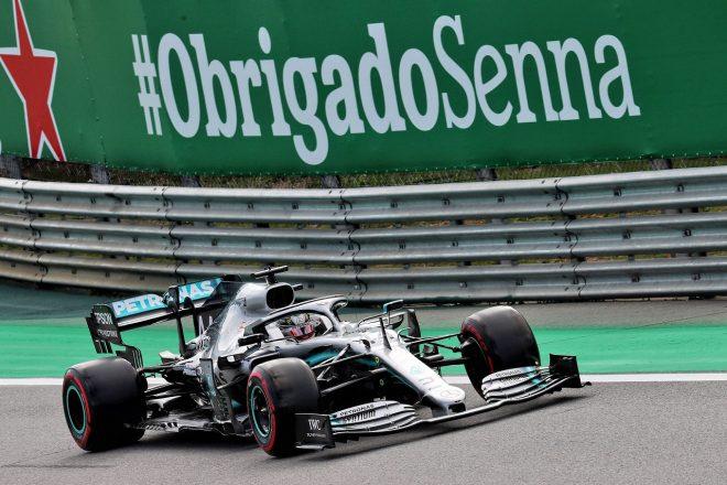 2019年F1第20戦ブラジルGP ルイス・ハミルトン(メルセデス)