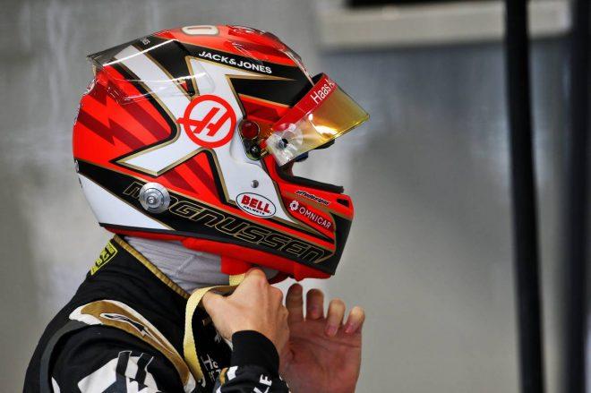 2019年F1第20戦ブラジルGP予選日 ケビン・マグヌッセン(ハース)