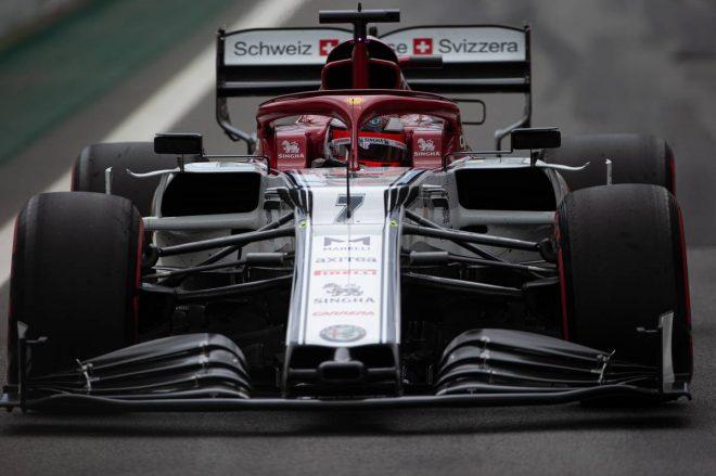 2019年F1第20戦ブラジルGP予選日 キミ・ライコネン(アルファロメオ)
