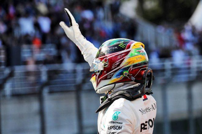 2019年F1第20戦ブラジルGP予選日 ルイス・ハミルトン(メルセデス)
