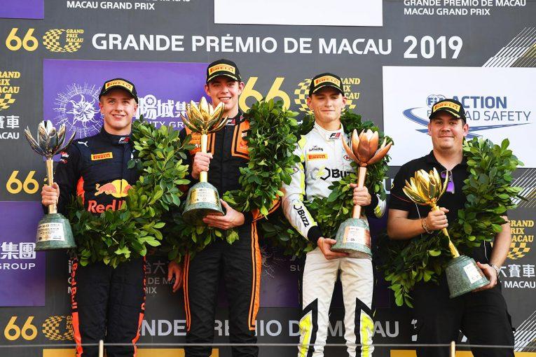 海外レース他   第66回マカオグランプリ:初挑戦のフェルショールがF3ワールドカップを制す。ビップスは2位