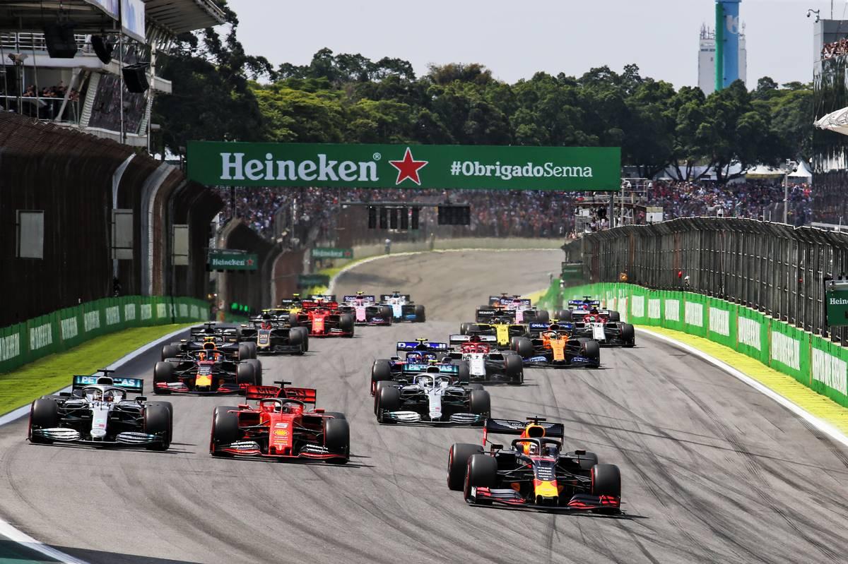 2019年F1第20戦ブラジルGP