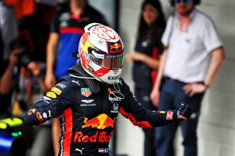 F1 | ホンダ1-2でブラジルGPフィニッシュ! フェルスタッペン優勝、ホンダ3台vsハミルトンのトップ4がラスト2周緊迫のバトル