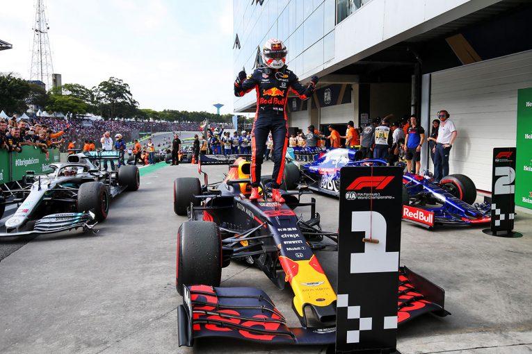 F1 | レッドブルF1ボス「ホンダとフェルスタッペンはトップレベル。2020年には言い訳はできない」
