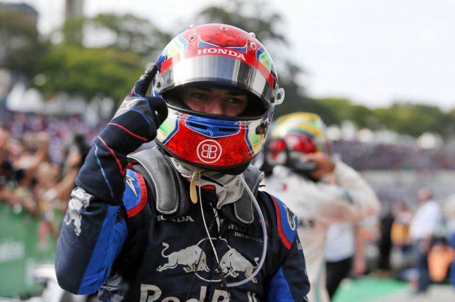 2019年F1第20戦ブラジルGP ピエール・ガスリー(トロロッソ・ホンダ)