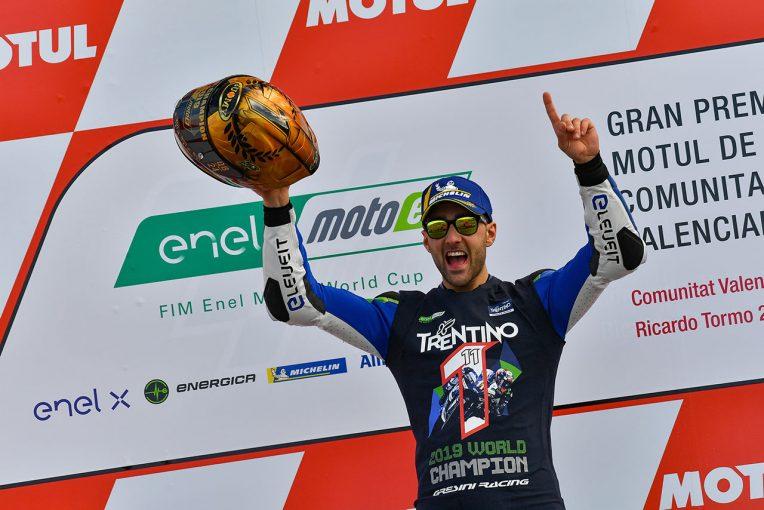 MotoGP | MotoE最終戦バレンシアGP:22歳イタリア人ライダーのフェラーリが初代チャンピオンの栄冠に輝く