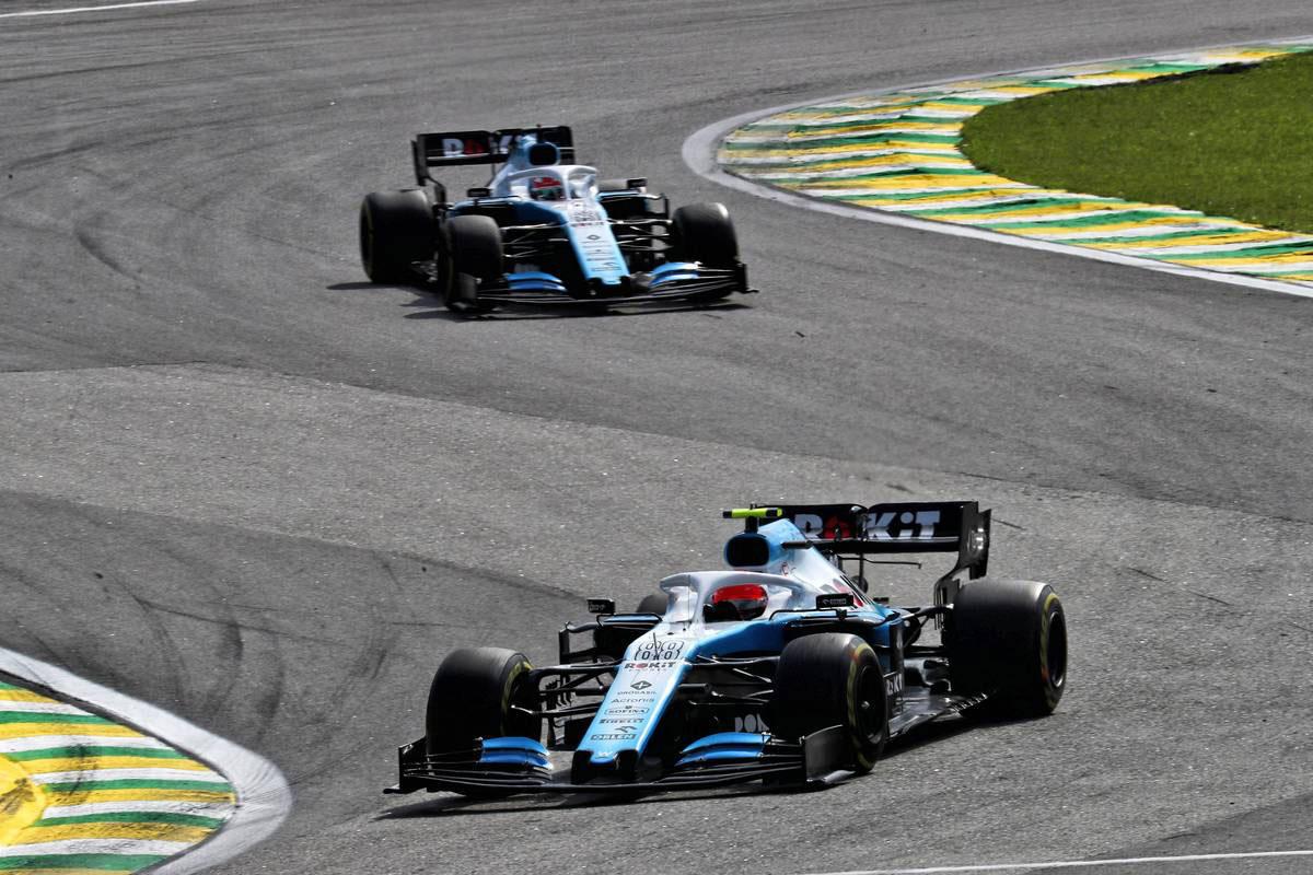 2019年F1第20戦ブラジルGP ロバート・クビサ、ジョージ・ラッセル(ウイリアムズ)