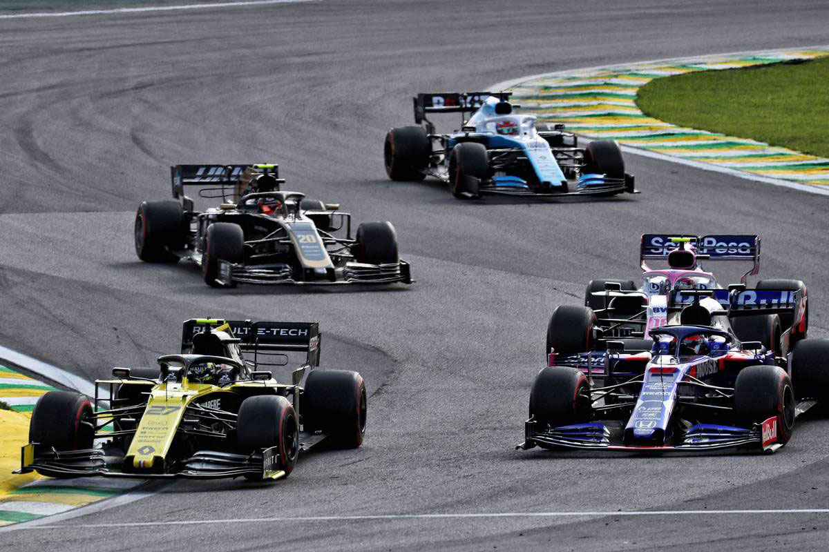 2019年F1第19戦ブラジルGP ニコ・ヒュルケンベルグ(ルノー)