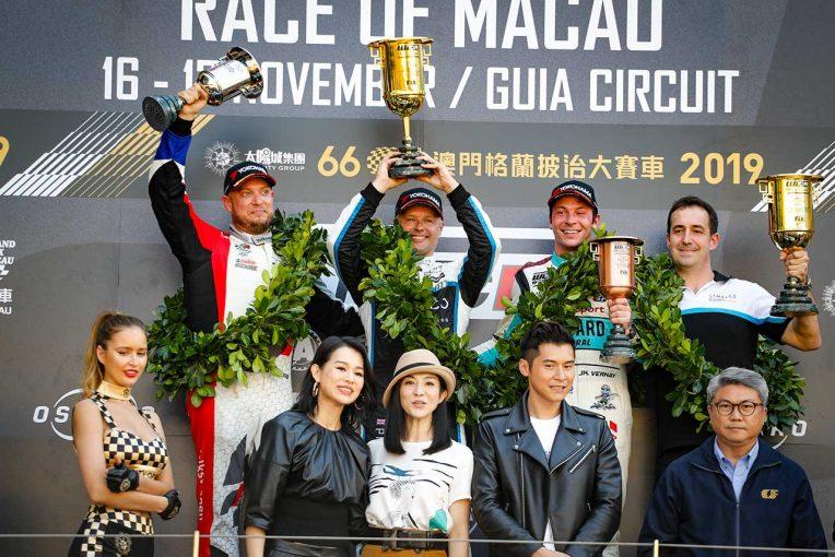 海外レース他 | WTCRマカオ:Lynk&Coが3レース全勝。チャンピオン争いは4つどもえで最終戦へ