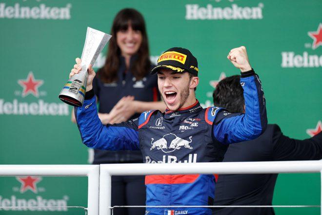 2019年F1第20戦ブラジルGP決勝日 ピエール・ガスリー(トロロッソ・ホンダ)