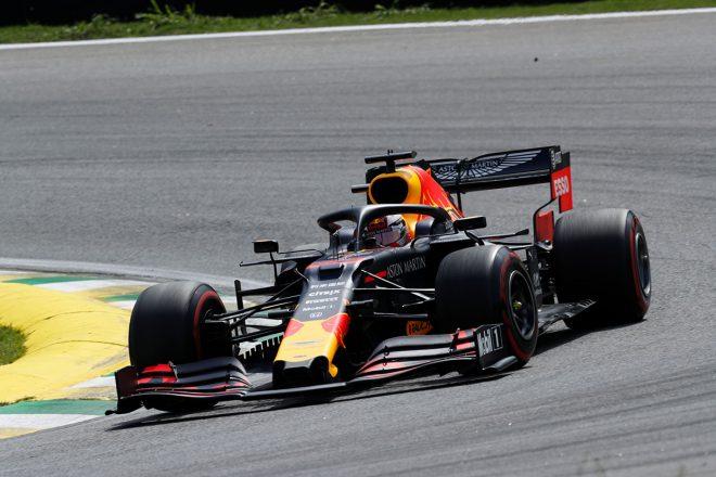 2019年F1第20戦ブラジルGP決勝日 マックス・フェルスタッペン(レッドブル・ホンダ)