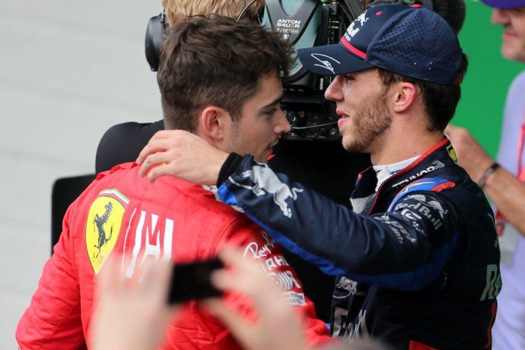 F1   ルクレール「ベッテルがどんどん寄せてきて、最終的に接触した」:フェラーリ F1ブラジルGP