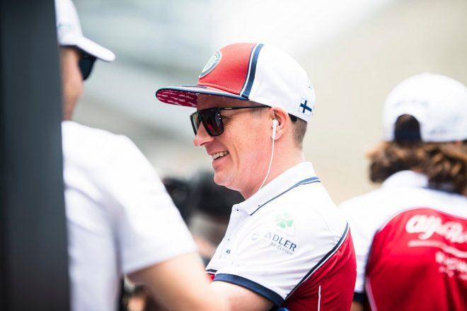 2019年F1第20戦ブラジルGP キミ・ライコネン(アルファロメオ)