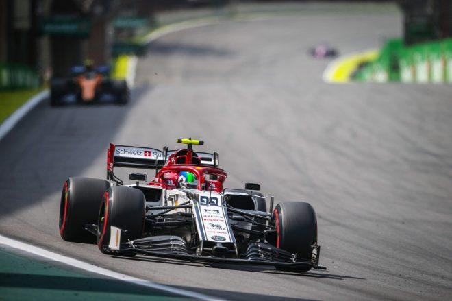2019年F1第20戦ブラジルGP アントニオ・ジョビナッツィ(アルファロメオ)