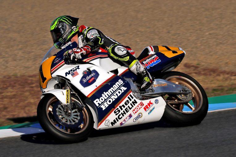 MotoGP | ホンダNSR500は「モトクロスバイクに乗るような感じ」とクラッチロー。乗って感じた現代マシンとの違い