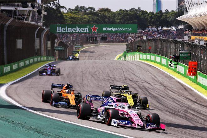 2019年F1第20戦ブラジルGP セルジオ・ペレス(レーシングポイント)