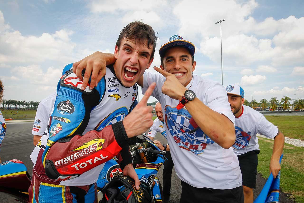 MotoGP:レプソル・ホンダ加入のアレックス・マルケス。チームマネージャーが「彼はMoto2チャンピオン」と起用理由を明かす