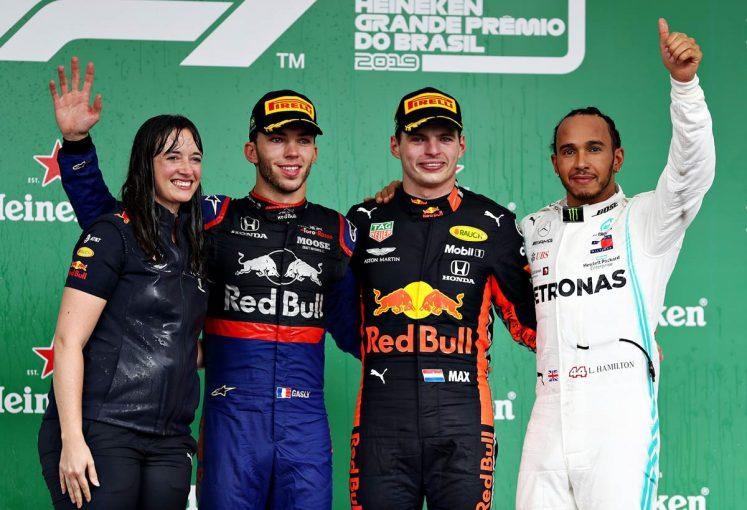 F1 | レッドブル代表優勝インタビュー:「我々はメルセデスとチェスをしているようなものだった」/F1ブラジルGP