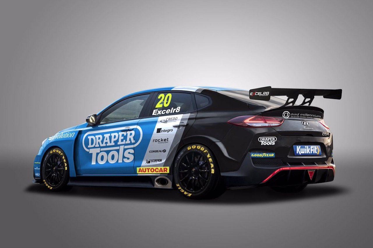 BTCC:2020年からヒュンダイが初参戦。『i30 Fastback N Performance』を投入