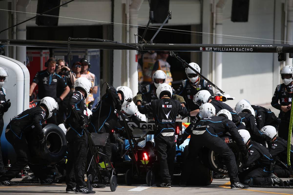 2019年F1第20戦ブラジルGP ロバート・クビサ(ウイリアムズ)