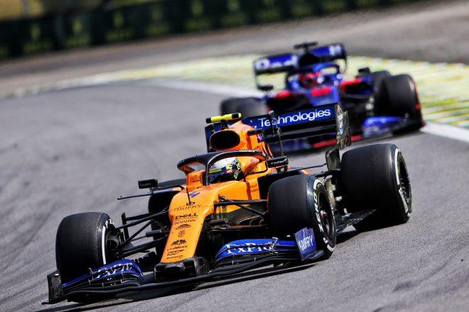 2019年F1ブラジルGPでのノリス