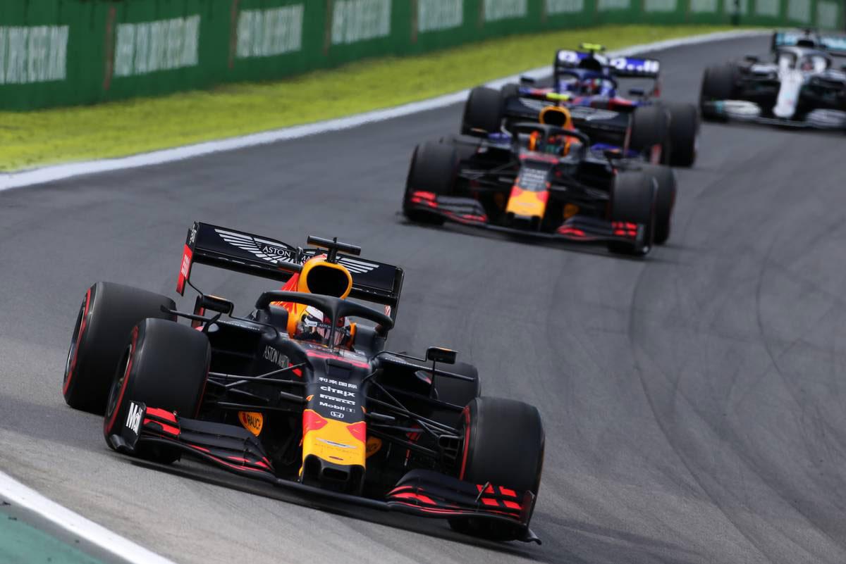 2019年F1第20戦ブラジルGP マックス・フェルスタッペン(レッドブル・ホンダ)