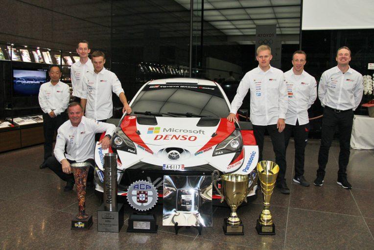 ラリー/WRC | トヨタWRCドライバーが東京に集結。トミ・マキネン代表「新しいチャンピオンを生み出せた」