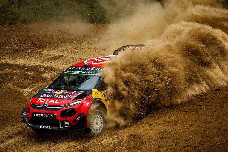ラリー/WRC | WRCに衝撃! シトロエンが2019年限りでのシリーズ撤退を発表