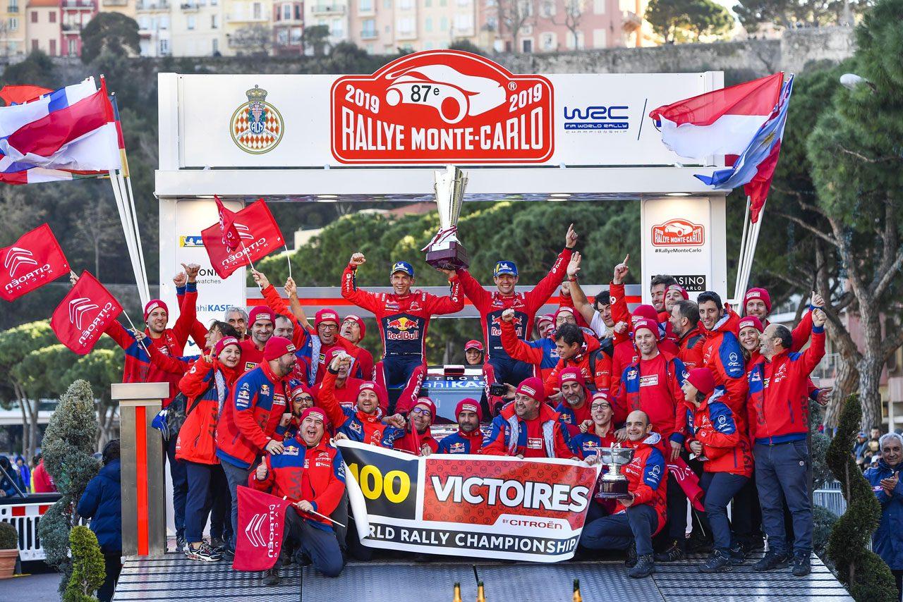 WRCに衝撃! シトロエンが2019年限りでのシリーズ撤退を発表
