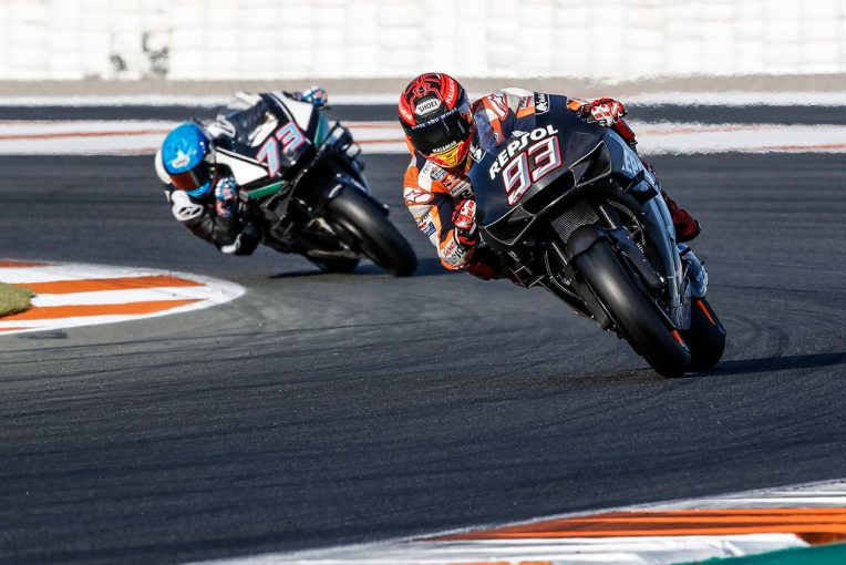 MotoGP | MotoGPバレンシアテスト:マルク・マルケスが新フェアリングをテスト。ビニャーレスが2日目、総合をトップで終える