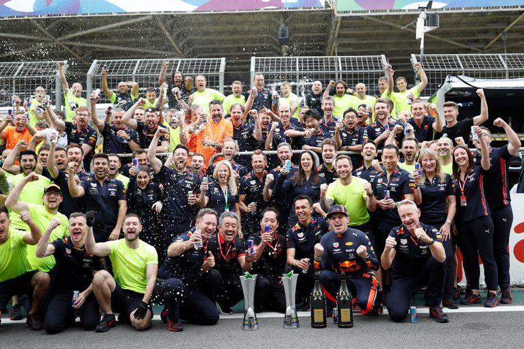 F1 | 【F1ブラジルGP無線レビュー】最大限の性能を引き出したフェルスタッペンが雪辱を果たす「最高の結果になったよ!」