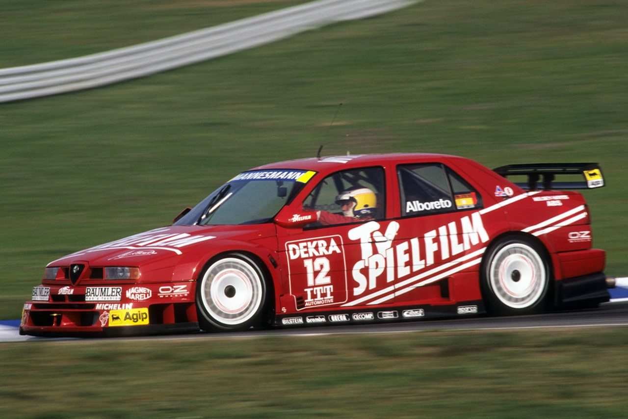 4WDでDTMに新旋風を巻き起こしたイタリア王者『アルファロメオ155 V6 TI』/DTMを歴代名車で振りかえる