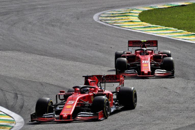 F1   フェラーリ会長、F1ブラジルGPでの接触でドライバーらに忠告。「フェラーリのためのレースであることを忘れてはならない」