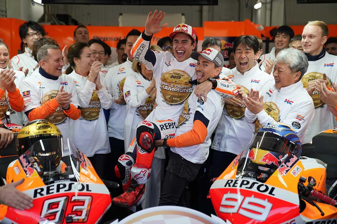 ロレンソ、バレンシアGPで18年間のMotoGP参戦に幕。ラストレースを終え「僕は今、完全に自由だと感じている」