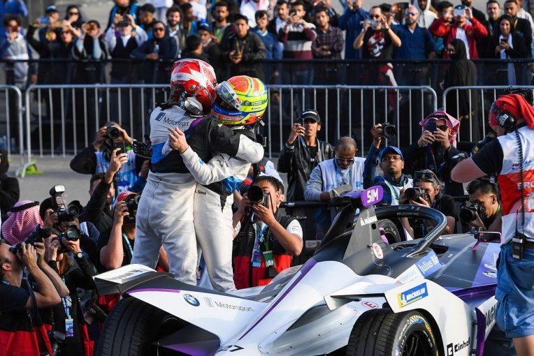 海外レース他 | 19/20フォーミュラE第2戦:シムズがポール・トゥ・ウインで初優勝。BMWはワン・ツー・フィニッシュを達成
