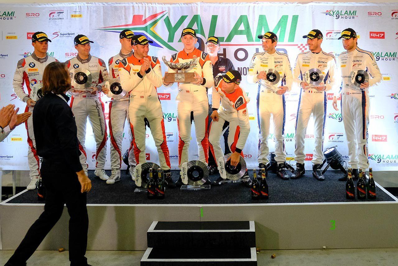 IGTCキャラミ9時間:フライカデリのポルシェが優勝を飾る。千代&JP組GT-Rは19位という結果に