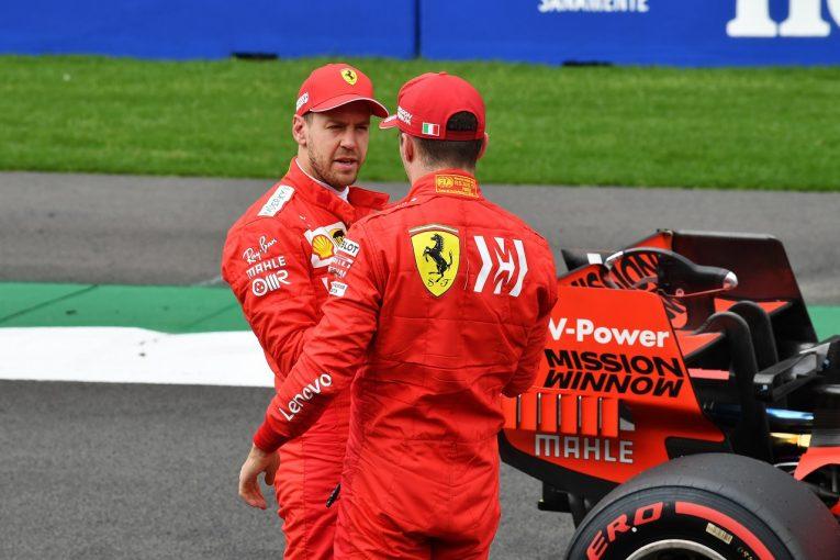 F1 | フェラーリF1「ベッテルとルクレールの間にわだかまりは一切ない」代表の個別協議で同士討ち問題は終息
