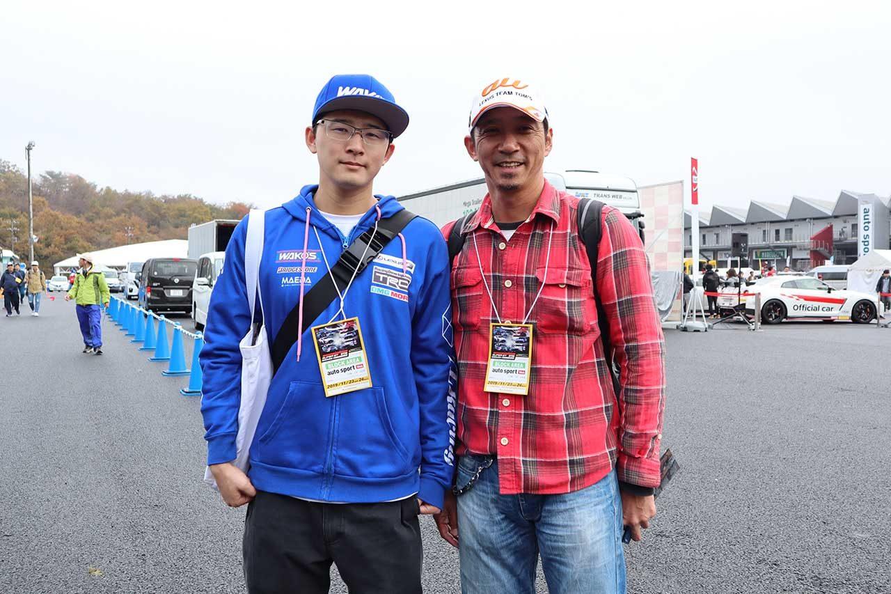 autosport web応援席で立川&牧野がファンと交流。レース1裏話も/スーパーGT×DTM特別交流戦