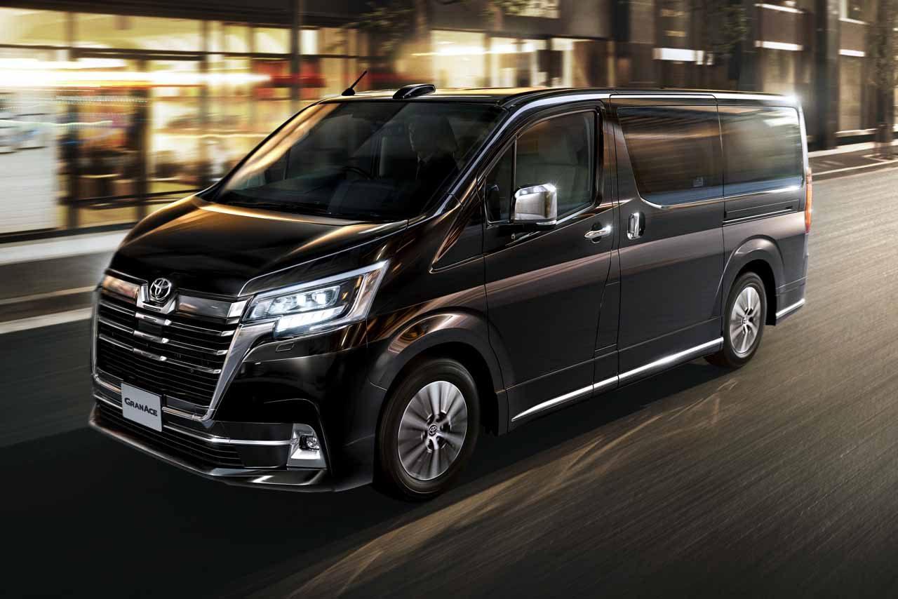 トヨタ、5m超えの新型フルサイズ高級ワゴン『グランエース』を12月16日より発売
