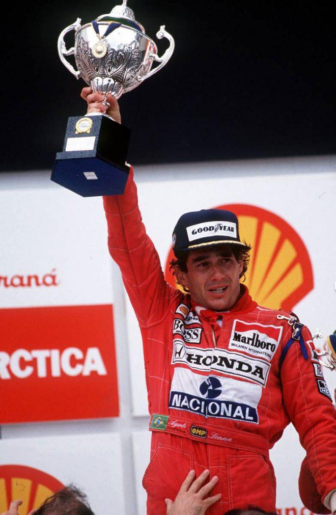 1991年 ブラジルGP アイルトン・セナ