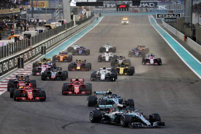F1   2019年F1第21戦アブダビGP、TV放送&タイムスケジュール