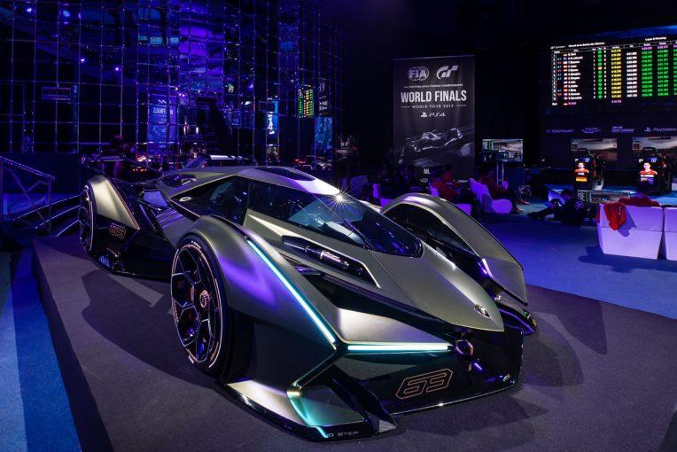 クルマ | 6.5Lハイブリッド搭載『ランボV12』ランボルギーニが2020年春登場のビジョン・グランツーリスモ発表