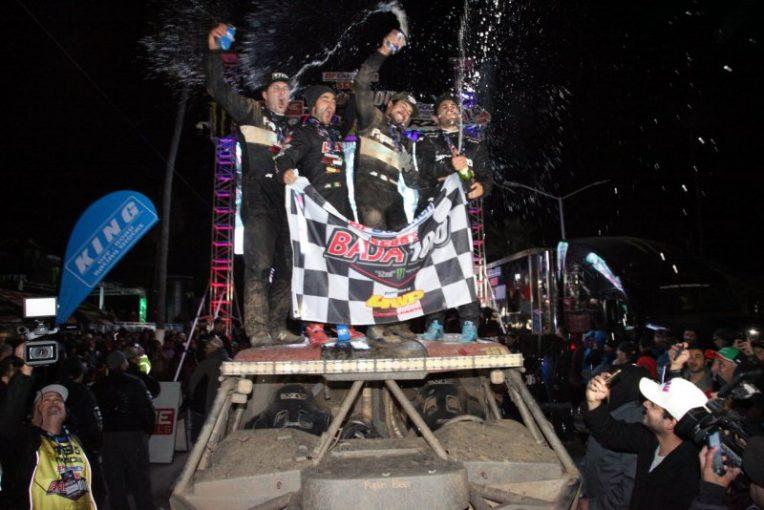 ラリー/WRC | 第52回バハ1000が閉幕。初挑戦バトンは完走ならず「17時間くらいは星空の下にいた」