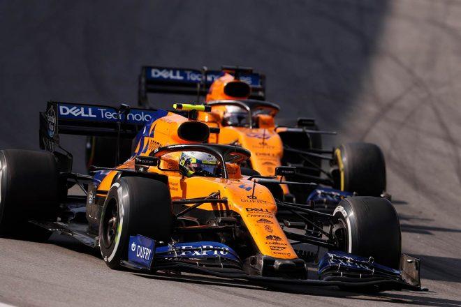 2019年F1第20戦ブラジルGP カルロス・サインツJr.、ランド・ノリス