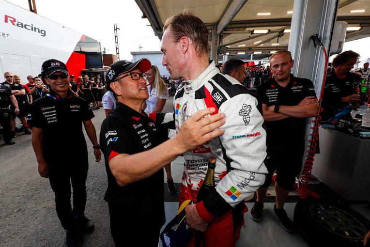 ラリー/WRC | 「ラトバラに会わなければトヨタはWRCにいなかったかも」豊田総代表、チーム離脱3人に感謝