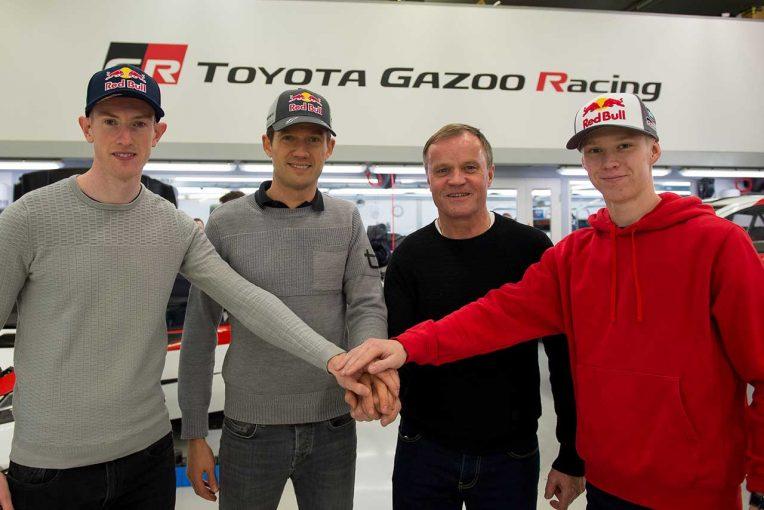ラリー/WRC | WRC:トヨタ、三冠目指す2020年に向け体制一新。エースとしてセバスチャン・オジエ起用