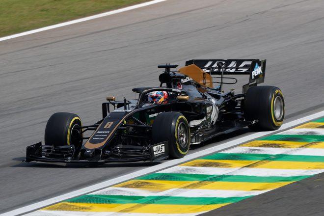 2019年F1第20戦ブラジルGP ロマン・グロージャン(ハース)
